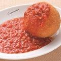 料理メニュー写真シチリア風 ライスコロッケ、ミートソースがけ