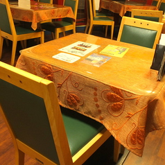 デートなどにもおすすめ!2名様テーブル。