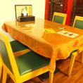 雰囲気自慢!4名様テーブル。