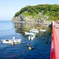 【雄島の風景3】この島近辺で、海女さん達が、「あわび」や「ウニ」などの貝を採っています!