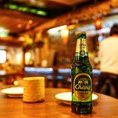 アジア各国のビールもお楽しみ頂けます。各国のレストランで修行したシェフが腕によりをかけて仕上げる各種料理を一口食べればアジアの国へひとっ飛び♪