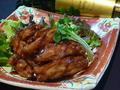 料理メニュー写真スペアリブチキン(手羽中)の唐揚げ 黒胡椒風味