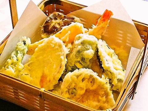 天ぷら 和食の豊年
