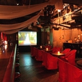 【貸切】見通しの良い広々空間は最大100名様まで貸切パーティーが可能です!