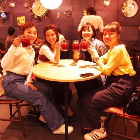 女子会、ママ会、誕生日会、ランチ、カフェ、夜カフェごはん等、様々なシーンでご利用ください!!使い勝手のいいお店です♪