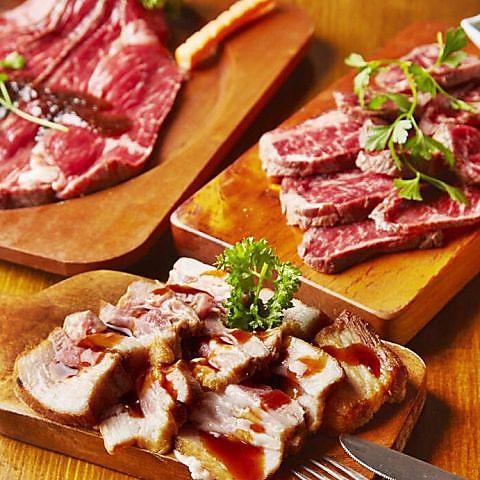 水道橋で話題の炭火シュラスコ食べ放題!炙り肉寿司も人気♪