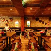 アジアの屋台をモチーフに作り上げた新大久保の新しいエンターテイメントレストランのようです