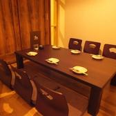 会社宴会や接待などにおススメ!完全個室、座敷の和モダンな空間です。少人数から大人数まで、様々なシーンでご利用いただけます。