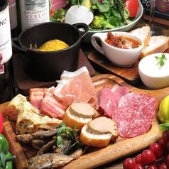 野菜とお肉の関内バル333のコース写真