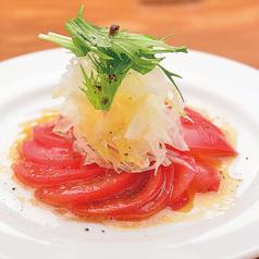 トマトスライスオニオンサラダ