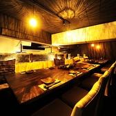 照明がおしゃれなテーブル個室★