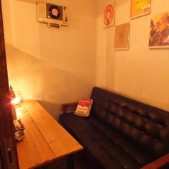 大人気の個室。ご予約必須☆