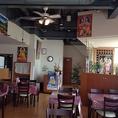 インドやネパールの雰囲気を肌で感じる店内♪