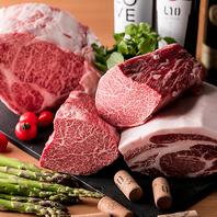 特選黒毛和牛を使用した逸品料理をご堪能下さい◎