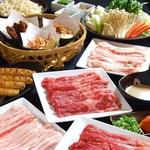 【食べ放題】しゃぶしゃぶ食べ放題コースは、2800円と飲み放題付は4000円!!