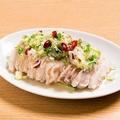 料理メニュー写真葱油鶏