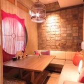 合コンや女子会、誕生日、記念日にぴったりなデザイナーズ個室♪人気のお席ですのでご予約はお早めに!