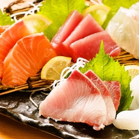 新鮮な魚や野菜…