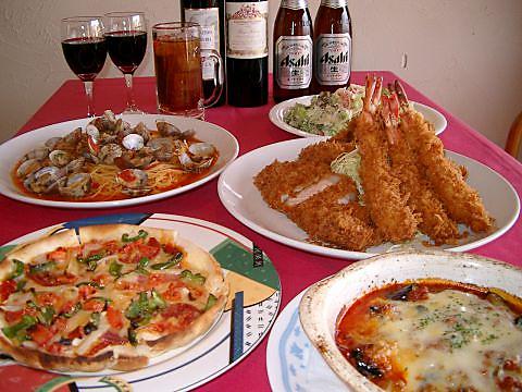 イタリアン ドルチェ/とんかつ かつ富