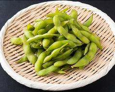 料理メニュー写真こだわりの枝豆