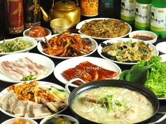 母韓の台所の写真