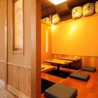 奥ゆかしい和の個室空間