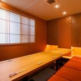 【完全個室】2階掘りごたつ(7~12名席)/周りを気にせずお食事がご堪能頂けます。
