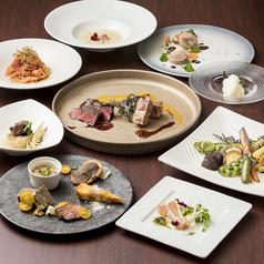 肉と葡萄 信玄食道のコース写真