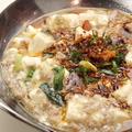 料理メニュー写真新定番!白麻婆豆腐