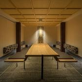 テーブルタイプのデザイン個室