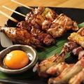 料理メニュー写真【山梨産健味鶏】串焼き盛り合わせ
