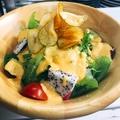 料理メニュー写真野菜サラダ酵素ドレッシング