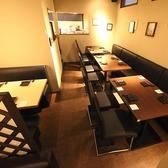 10~20名の貸切OK!突発的なプチ宴会などはこちらの空間をご利用下さい。