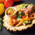 料理メニュー写真前菜盛り合わせ5種