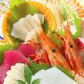 ≪選べる4000円コース≫なんといってもやっぱり魚!高知の旨い魚を堪能できる定番の魚コース。お造りもカツオもお寿司も…♪贅沢に魚を食すコースです。※料理内容は季節などで変わります。写真はイメージです。