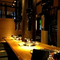 1席のみの特別宴会席♪京都・大阪でも大人気店だからできる特別仕様の新店舗です★
