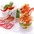 料理メニュー写真前菜3種盛り合わせ(上記の前菜からお好みで3種類 盛り合せを致します)