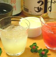 梅酒・果実酒650円~