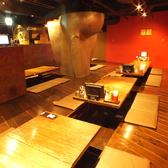 テーブル、掘りごたつ、半個室など、シーンによって使い分けることができます。