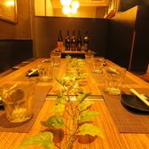 2名様~最大12名様までご利用いただけるテーブルのお席です。韓国料理を食べ放題で楽しむなら是非当店へお越しくださいませ☆