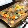 Anglerfish frit Setouchi lemon Source  あんこうのフリット瀬戸内レモンのソース