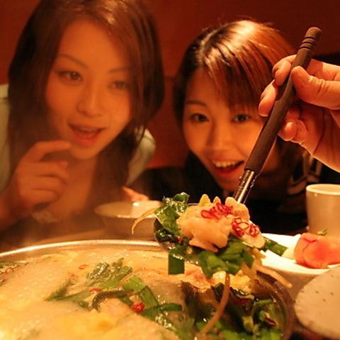 博多黒鉄西新店は西新駅徒歩1分!自慢の餃子鉄鍋料理しゃぶしゃぶが美味しい居酒屋。