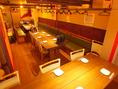 16~40名でご利用可能なVIPルーム(夢空間)がございます。人気のお部屋ですので、ご予約はお早めに!