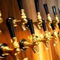日本各地からこだわりの「クラフトビール」が大阪の中心に集結!当店が厳選した数多くのビールから、あなたの好みのビールがきっと見つかるはず♪色も、味も、香りも様々なビールは飲み放題でも味わうことができます!パーティプランと合わせてご利用ください♪