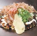料理メニュー写真福岡風ねぎチーズ玉