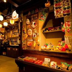 店内には懐かしの駄菓子コーナー♪