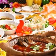 タイ人シェフが作る絶品タイ料理をご用意しております。