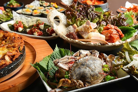 隠れ家韓国料理jihoonジフン安城本店