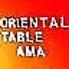 オリエンタルテーブル アマ oriental table AMA 早稲田駅前店のロゴ