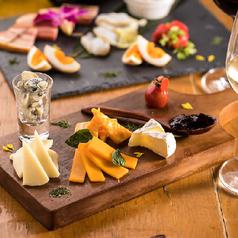本日のチーズ盛り合わせ5種